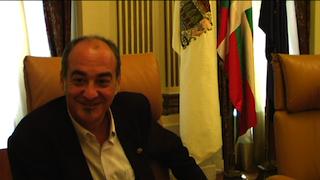 Martin Garitano Gipuzkoako ahaldun nagusiari elkarrizketa