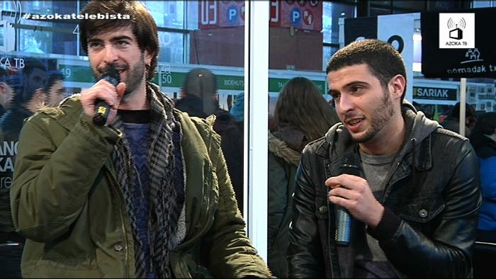 Landakoenea: Eskean Kristö musika taldeko kideei elkarrizketa