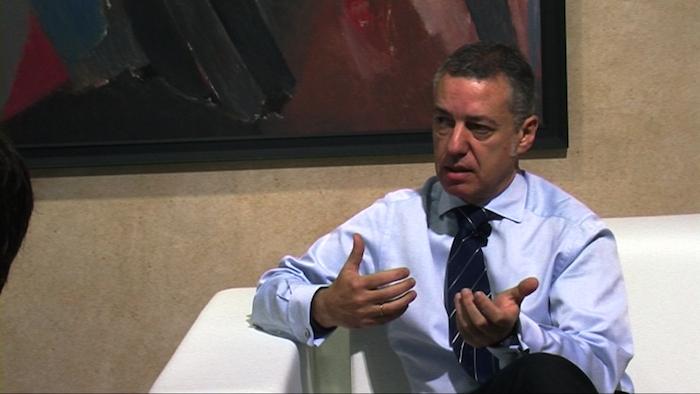 Iñigo Urkullu, Eusko Jaurlaritzako lehendakariari elkarrizketa: politika eta ekonomia gaiak