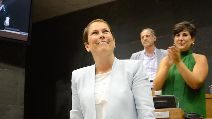 Uxue Barkos izendatu dute Nafarroako presidente